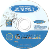 ESPN International Winter Sports GameCube disc (GWSPA4)