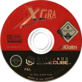 XGRA Extreme G Racing Association GameCube disc (GXAP51)