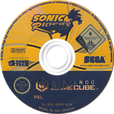 Sonic Riders GameCube disc (GXEP8P)