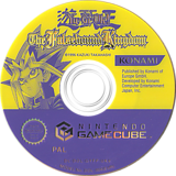 Yu-Gi-Oh! The Falsebound Kingdom GameCube disc (GYFPA4)