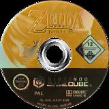 The Legend of Zelda: Twilight Princess GameCube disc (GZ2P01)