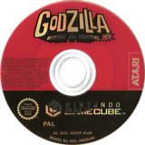 Godzilla:Destroy all Monsters Melee GameCube disc (GZDP70)