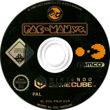 Pac-Man vs. GameCube disc (PRJP01)