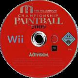 Millennium Series Championship Paintball 2009 Wii disc (R29P52)