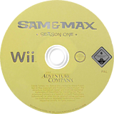 Sam & Max: Season One Wii disc (R3XP6V)