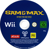 Sam & Max: Season Two: Beyond Time and Space Wii disc (R3YP70)