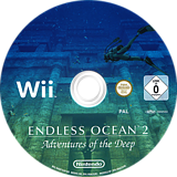 Endless Ocean 2: Adventures of the Deep Wii disc (R4EP01)