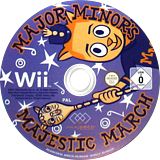 Major Minor's Majestic March Wii disc (R4NX5G)