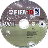FIFA 10 Wii disc (R4RY69)