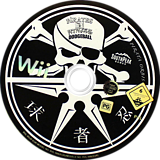 Pirates vs Ninjas Dodgeball Wii disc (R5JPS5)