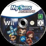 MySims Agents Wii disc (R5XP69)