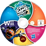 Hasbro: Family Game Night 2 Wii disc (R6XP69)