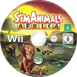 SimAnimals Africa Wii disc (R7AP69)