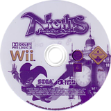 NiGHTS: Journey of Dreams Wii disc (R7EP8P)