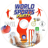 World Sports Party Wii disc (R8SX41)