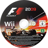 F1 2009 Wii disc (R9FP36)