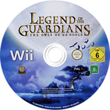 Legend of the Guardians: The Owls of Ga'Hoole Wii disc (R9GPWR)
