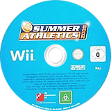 Summer Athletics 2009 Wii disc (R9MPFR)
