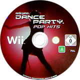 Dance Party Pop Hits Wii disc (R9RPNG)