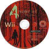 Resident Evil 4: Wii Edition Wii disc (RB4P08)