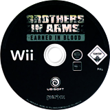 Brothers In Arms: Earned In Blood Wii disc (RB5P41)