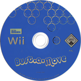 Bust-A-Move Wii disc (RBMPGT)