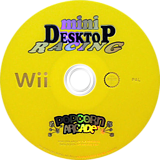 Mini Desktop Racing Wii disc (RCEPUG)