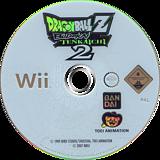 Dragon Ball Z: Budokai Tenkaichi 2 Wii disc (RDBPAF)