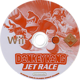 Donkey Kong: Jet Race Wii disc (RDKP01)