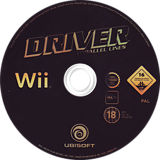 Driver: Parallel Lines Wii disc (RDVP41)