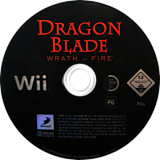 Dragon Blade: Wrath of Fire Wii disc (RDWPG9)