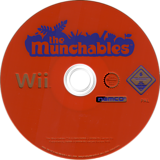 The Munchables Wii disc (RE5PAF)