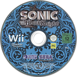 Sonic and the Black Knight Wii disc (RENP8P)