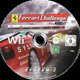 Ferrari Challenge Wii disc (RF3P6M)
