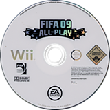 FIFA 09 All-Play Wii disc (RF9P69)