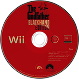 The Godfather: Blackhand Edition Wii disc (RGFP69)