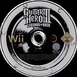 Guitar Hero III: Legends of Rock Wii disc (RGHP52)
