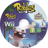 Rabbids Go Home Wii disc (RGWX41)