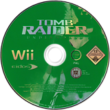 Tomb Raider: Underworld Wii disc (RH8P4F)