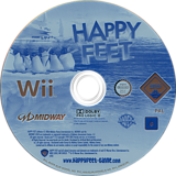 Happy Feet Wii disc (RHFP5D)