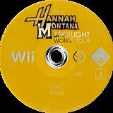 Hannah Montana: Spotlight World Tour Wii disc (RHQP4Q)