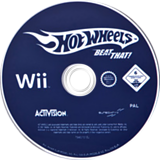Hot Wheels: Beat That! Wii disc (RHWP52)