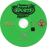Summer Sports Party Wii disc (RI6P41)