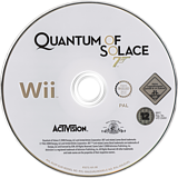 007: Quantum of Solace Wii disc (RJ2P52)