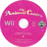 My Animal Centre Wii disc (RJDPKM)