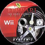 Ferrari: The Race Experience Wii disc (RJIP6M)