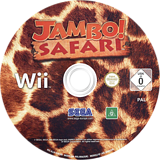 Jambo! Safari Wii disc (RJJP8P)