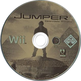 Jumper: Griffin's Story Wii disc (RJMPRS)