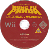 Kung Fu Panda: Legendary Warriors Wii disc (RKHP52)