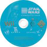 LEGO Star Wars: The Complete Saga Wii disc (RLGP64)